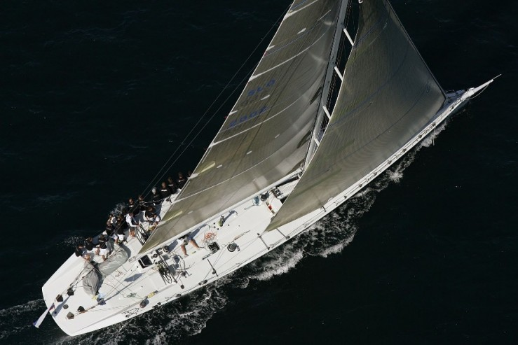 80 feet carbon canting keel racer