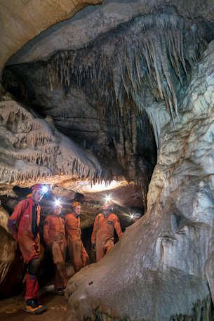 discovering Karst caves